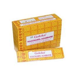 4 Cajas x 15g YesMandala Incienso Goloka Nag Champa